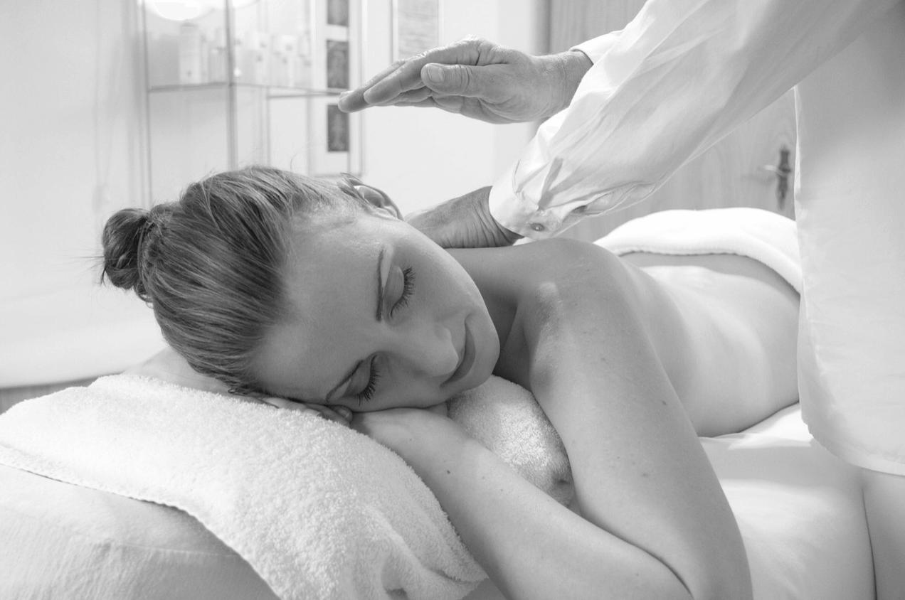 Behandlung Massage Entspannung und relax